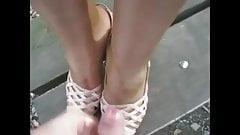 cumpilation talons and feet