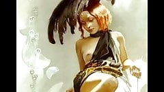 Sensual Erotic Paintings of Svetlana Valueva