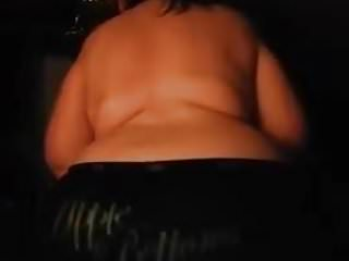 50 yr old Italian mature shows big ass again