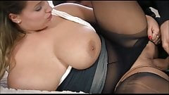 Big Soft Boobs and Plush Body Satisfy His Lust