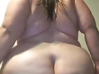 Sexy thick pawg big white booty shake