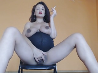 Girl sucking dick as pacifier