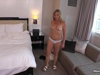 Horny Hot Blonde Milf Fresh Off Vacation