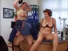 Grannies Office Fucking by satyriasiss