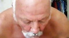silver daddy bear blowjob 17