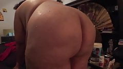 super wide Ssbbw slow motion pt I