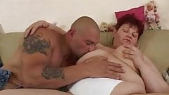Horny Mature Lady Seduces The