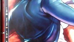 Cum Tribute - Crimson Viper (Street Fighter 4)