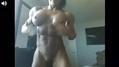 webcam muscle babe