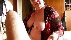 Sexy Granny blowjob