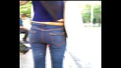 Culito rico en jeans