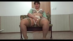 Sexy BBW Legs And Pantyhose