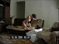 Russian MILF with young msn