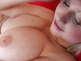 Busty Blonde Sherry Strip And Masturbating  Of