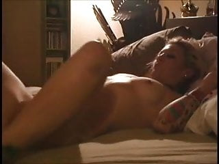 Hot Fucking Tatted Milf in bed by Young Guy