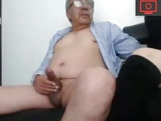 grandpa and her young cocksucker