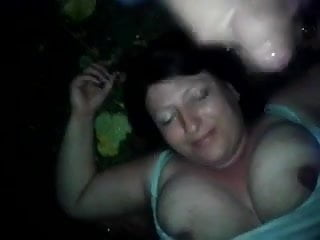 Dirty Bbw Nat Threesome Outdoors