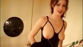 Slut wife fucks gang at home (Amazing tits)