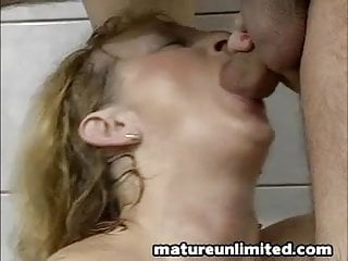 Housewife get pounded in bad