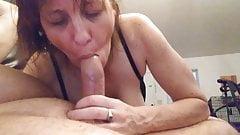 Perky tits..sucking away..