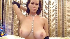 Slim stacked girl in beautiful lingerie