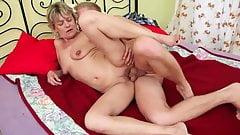 Blonde mature fucked hard
