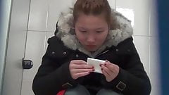Chinese toilet peeing 4