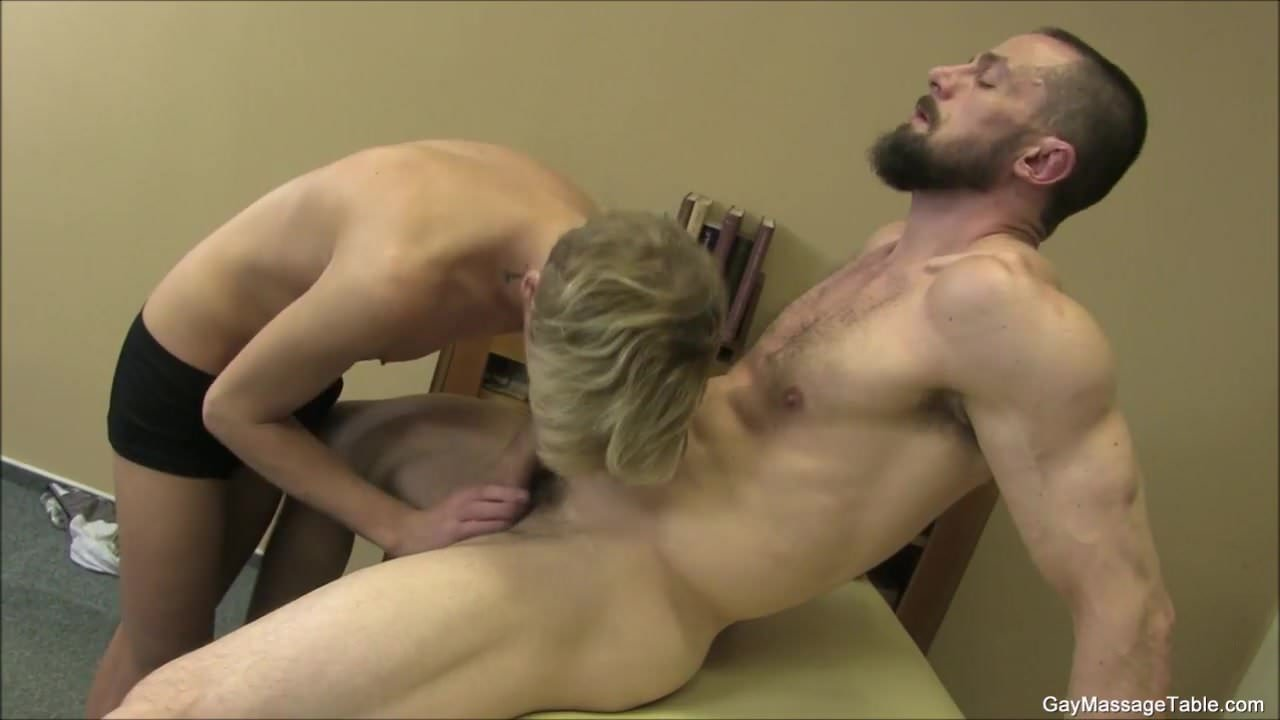 Twinks first time with a gay masseur