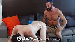 ManRoyale Step son lets step dad fuck on Fathers Day