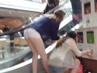 Teen ass bent over
