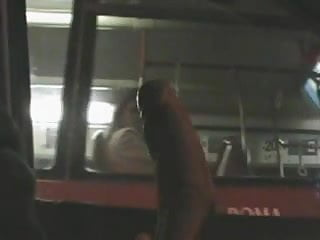 Preview 6 of fascinated to see bigcock flashing car to bus