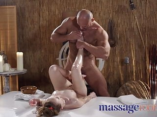 Massage Rooms Standing  With Petite Naughty Czech Nymph
