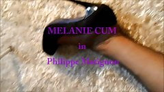 Melanie in Black Pantyhose