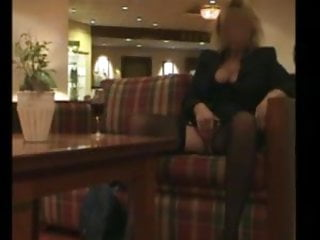 Fame hall picture sex - Woman masturbates in hall of a hotel