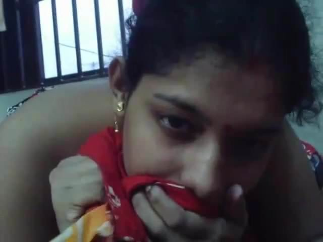 Bengali lady sucking long penis
