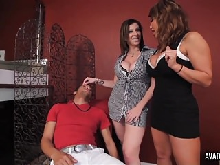 Pornstarplatinum Ava Devine And Sarah Jay With Young Boy