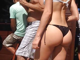 Spy And Voyeur Hot Butt Beach