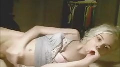 Blond TS Angel Masturbating Sensually For The Fans