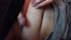 Me jerking my cock bored and horny