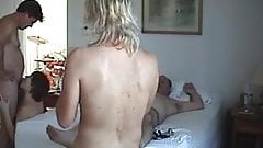 2 swinger couples fucking delicious