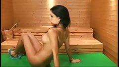 Ella Mai in the BS Sauna