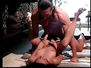 Sexy perky tit asian cock sucker gets her ass and pussy filled up with big dick