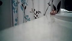 Hairy Pussy Shower 2
