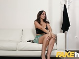 Fake Agent Spunk loving tattooed Spanish babe Claudia Bavel