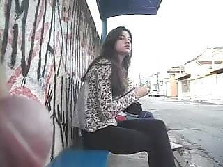 Novinha olhando meu pau