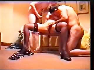 British Scottish real amateur threesome