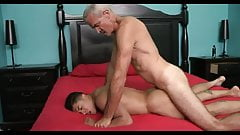Stepdad and stepson bonding time