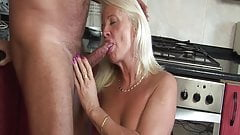 60+ grandmas pussy is very wet!