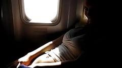 Masturbandose en el avion