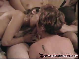 Velvet Swingers Club gangbang party BBW sluts need love too